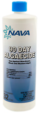 Nava Algaecide 90 Day Prevents Algae Swimming Pool Chemical 1 Quart Bottle