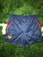 FCB FC Barcelona Barca Futbol Soccer Home Shorts Blue Mens Sz XL