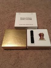ESTEE LAUDER 2004 SOLID PERFUME COMPACT BUSTIER BUST  FULL SPARKLY GORGEOUS