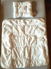 Zöllner | Ganzjahres Bett Babydecke Steppbett 80x80 + Kissen 35x40 | sehr gut