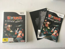 Worms a Space Oddity Nintendo Wii Wii u Pal