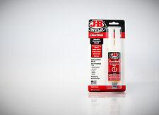 J-B ClearWeld - Schnellbindender, klarer Epoxidkleber in der Dosierspritze