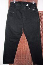 Harley Davidson black jeans 14 petite 14P 34X30 high waist classic denim tapered