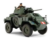 Tamiya 32587 1/48 Scale Military Model Kit British 7ton Armored Car MK.IV