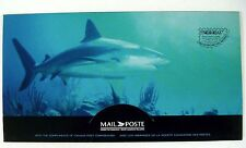 PAC '97 CANADA OCEAN FISH FDC PRESENTATION PACK STAMPS MARINE LIFE SHARK TUNA