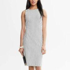 Banana Republic MADMEN Collection Striped Dress Size M Tall