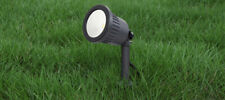 CGC 5W 980Lms LED Dark Grey Outdoor Garden Spike Light 4000K Patio Driveway Path