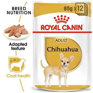 Royal Canin Chihuahua Adult Wet Dog Food, Nourishes Skin and Coat, 8m+, 12 x 85g