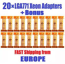 Lot of 20 x LGA771 to 775 MOD Adapter Sticker Intel XEON 2 Core 2 Quad - Q6600