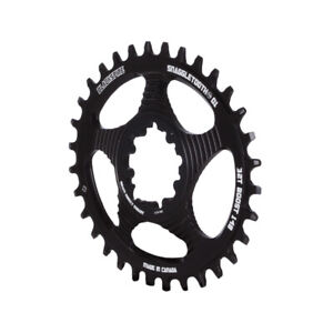 Blackspire Snaggletooth GXP Boost DM Oval NW ring, 32t - black