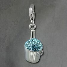 Ciondoli di lusso colore fantasia azzurrite