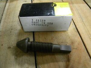 Brake Adjusting Screw A151R NOS OEM for JD - A B G 520 530 60 620 630 70 720 730