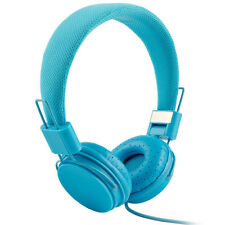 EP05 Headset Kopfhörer mit Mikrofon Stereo für MP3 IPod Smartphone Tablet BLAU