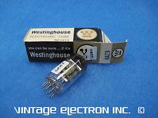 (1) Nos 6Az8 Vacuum Tube - Westinghouse - Usa - 1965 (Tested, Free Shipping!)
