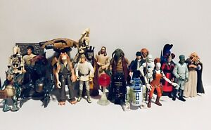 Lot Of 20 Star Wars Figures (Hasbro, 1998, 2000)