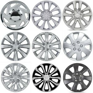 "4-PACK 16"" Hubcaps Car Accessories Wheel Covers Replacement P16 Tire Rim Replica"