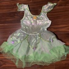 Disney Store TinkerBell Costume Dress Size 2/3 Toddler Girls 2T XXS