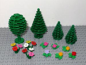 Lego Plants, Trees ,Flowers Bundle - 13 Pieces