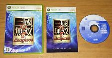 Shin Sangoku Musou 5 Empires Xbox 360 Fun Japan Import Games