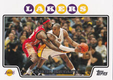 Kobe Bryant & Lebron James TOPPS BASKETBALL CARD Los Angles Lakers Cleveland Cav