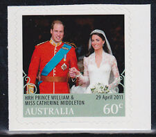 2011 Royal Wedding HRH Prince William & Kate Middleton - Booklet Stamp
