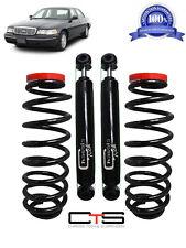 Rear Suspension Air Bag   Coil Spring Conversion Kit Shocks Ford Crown Vic 65993