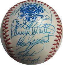 1990 NL All Star Team Signed Baseball Gwynn Sandberg Clark Bonds 33 Autos PSA