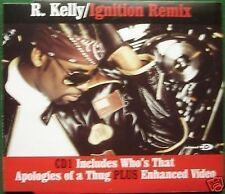R. Kelly Ignition Remix CD1 Enhanced CD Single
