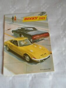 french Dinky toys catalogue 1969 2nd edition