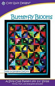 Butterfly Blooms Quilt Pattern by Cozy Quilt Designs