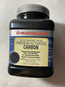 Marineland Black Diamond Activated Carbon 5oz: Brand New! Free Shipping !
