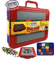 Brik Kase Lego Travel, Storage U0026 Organizer Case W/Building Plate Lid