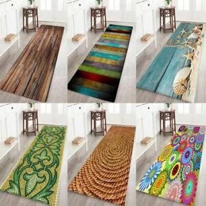 12 styles 3D Printing Carpet Hallway Doormat Anti - Slip Bathroom Carpe