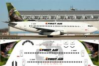 V1 Decals Boeing 737-200 First Air for 1/144 Airfix Model Airplane Kit V1D0141