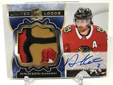 2017-18 The Cup Duncan Keith Limited Logos Patch Auto 17/50!