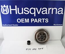 New OEM Husqvarna Clutch Drum Assembly Sprocket 537291604 455 466 Rancher