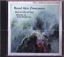 Bernd Alois ZIMMERMANN Cello Sonata Intercomunicazione MICHAEL BACH CPO CD NEU