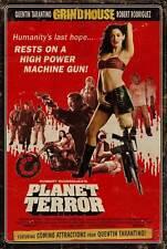 GRINDHOUSE Movie POSTER 27x40 K Kurt Russell Rose McGowan Rosario Dawson Jeff