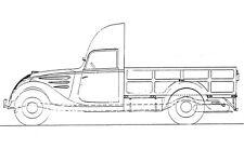 Peugeot DK5J plateau type D5T non bâché, WWII,  1:72