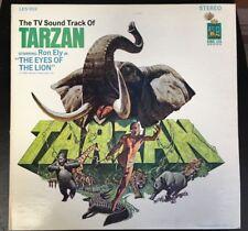 Ron Ely - The TV Sound Track Of Tarzan LP Vinyl 1966 King Leo LE-902 Stereo