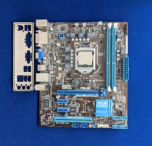 Mainboard ASUS P8H61-M LE/USB3 Intel Sockel 1155 inkl. CPU Core i3-2120, geprüft