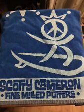 Scotty Cameron Golf Towel Peace Surfer