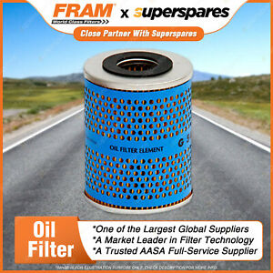 Fram Oil Filter for Land Rover 110 90 1/82-12/96 Cartridge filter