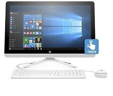 """New HP All-in-One Computer 24"""" Touch Screen A8 2.2GHz Quad-Core 8GB 1TB AIO PC"""