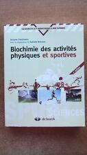 BIOCHIMIE DES ACTIVITES PHYSIQUES ET SPORTIVES - POORTMANS - BOISSEAU - SPORT