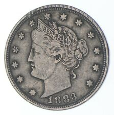 1883 'NO Cent' Liberty V Nickel - Tough - First Year Issue *910