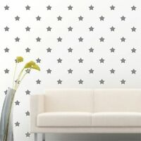 "180 of 2"" Silver Star DIY Decor Removable Peel Stick Wall Vinyl Decal Sticker"