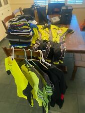 cycling jerseys, bibs and other clothing