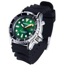 Phoibos Men's PX005A 1000M Dive Watch Swiss Quartz Green Sport Watch