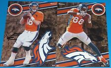 2014 NFL FATHEAD TRADEABLES Lot 2 Denver Broncos Peyton Manning Demaryius Thomas